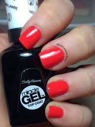 Kiss Uv Gel Lamp Walmart by Midwest Lacquered Momma Sally Hansen Miracle Gel Redgy