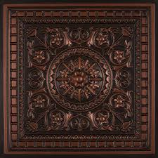 da vinci faux tin ceiling tile drop in 24 x24 215 faux