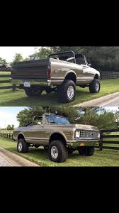 1972 Chevrolet K5 Blazer | Chevy Trucks - 1967-1972 | Pinterest | K5 ... 1967 1972 Chevy Truck Alinum Radiator Dual Fans With Shroud 196772 C10 Dot Flush Mounted Glass Windshield And Back Glass Chevrolet Trucks Kodiak Clever 1968 K10 Pickup 72 Wiring Diagram Ignition Switch Brothers Project Eighteen8 Build S Types Of 671972 Chevygmc Truck Blazerjimmy Nos Gm Rocker Panels 3944881 I Have Parts For Chevy Trucks Marios Elite Original Rust Free Classic 6066 6772 Parts Aspen Ctl6721seqset8 71968 Sequential Led Tail Light Ride Guides A Quick Guide To Identifying Pickups Ck 8 Bed Truxedo Lo Pro Tonneau Cover