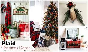 Plaid Christmas Decor Ideas For The Holidays