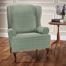 Strandmon Wing Chair Green by Wing Chair Slipcovers You U0027ll Love Wayfair