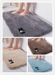 teppich badezimmer saugfähige bodenmatte langflor