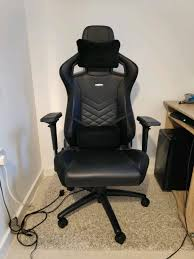 Noblechairs Epic Gaming Chair, Black, In Great Condition | In Exeter, Devon  | Gumtree Noblechairs Epic Gaming Chair Black Npubla001 Artidea Gaming Chair Noblechairs Pu Best Gaming Chairs For Csgo In 2019 Approved By Pro Players Introduces Mercedesamg Petronas Licensed Epic Series A Every Pc Gamer Needs Icon Review Your Setup Finally Ascended From A Standard Office Chair To My New Noblechairs Motsport Edition The Most Epic Setup At Ifa Lg Magazine Fortnite 2018 The Best Play Blackwhite