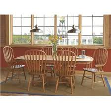Seven Piece Dining Room Set by L J Gascho Furniture At Tableandchairdealers Com Three Piece