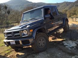 100 G Wagon Truck Offroader Built A MercedesBenz Class Pickup Because Mercedes Won