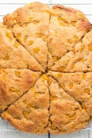 Starbucks Pumpkin Scones Calories by Healthy Honey Peach Scones Recipe Amy U0027s Healthy Baking
