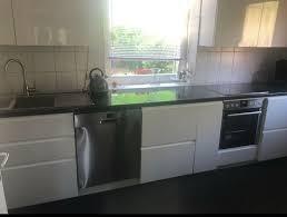 ikea küche hochglanz weiß halbes jahr alt 371cm