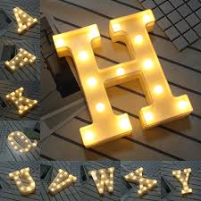 Giant Letter Hire Deluxe Occasions