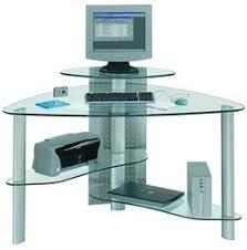 interior design tips very smart 3 x black glass corner desks