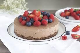 gesunde schokoladen mousse torte vegan glutenfrei ohne
