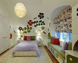 Appealing Interior Design Used In Kids Room Decorating Ideas Fascinating Flowery Window Valance
