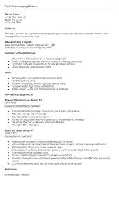 Housekeeping Cover Letter Sample Ideas Collection Housekeeper Resume Samples Free Best No Experience Template Manager