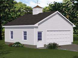 078G 0004 Country Style 2 Car Garage Plan