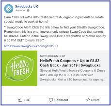 SwagBucks New #SwagCode #1 #Ireland #UnitedKingdom. Code At ... Hellofresh Canada Exclusive Promo Code Deal Save 60 Off Hello Lucky Coupon Code Uk Beaverton Bakery Coupons 43 Fresh Coupons Codes November 2019 Hellofresh 1800 Flowers Free Shipping Make Your Weekly Food And Recipe Delivery Simple I Tried Heres What Think Of Trendy Meal My Completly Honest Review Why Love It October 2015 Get 40 Off And More Organize Yourself Skinny Free One Time Use Coupon Vrv Album Turned 124 Into 1000 Ubereats Credit By