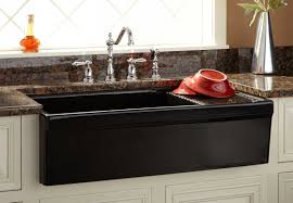 Copper Sinks With Drainboards by Sink Wonderful Black Farm Sink With Drainboard Favored Farmhouse