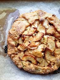Maple Glazed Rustic Apple Tart