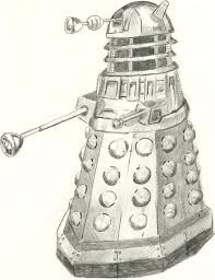 Dr Who Dalek Christmas Tree by Doctor Who Dalek Drawing Pencil Google Search Doctor Who