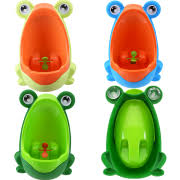 Pink Frog Potty Chair by Baby Toilets