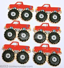 100 Monster Truck Cookies S Decorated For Inspiration