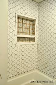 Tiling A Bathtub Surround by Shower U0026 Tub Surround Tile And Grout A Designer At Home