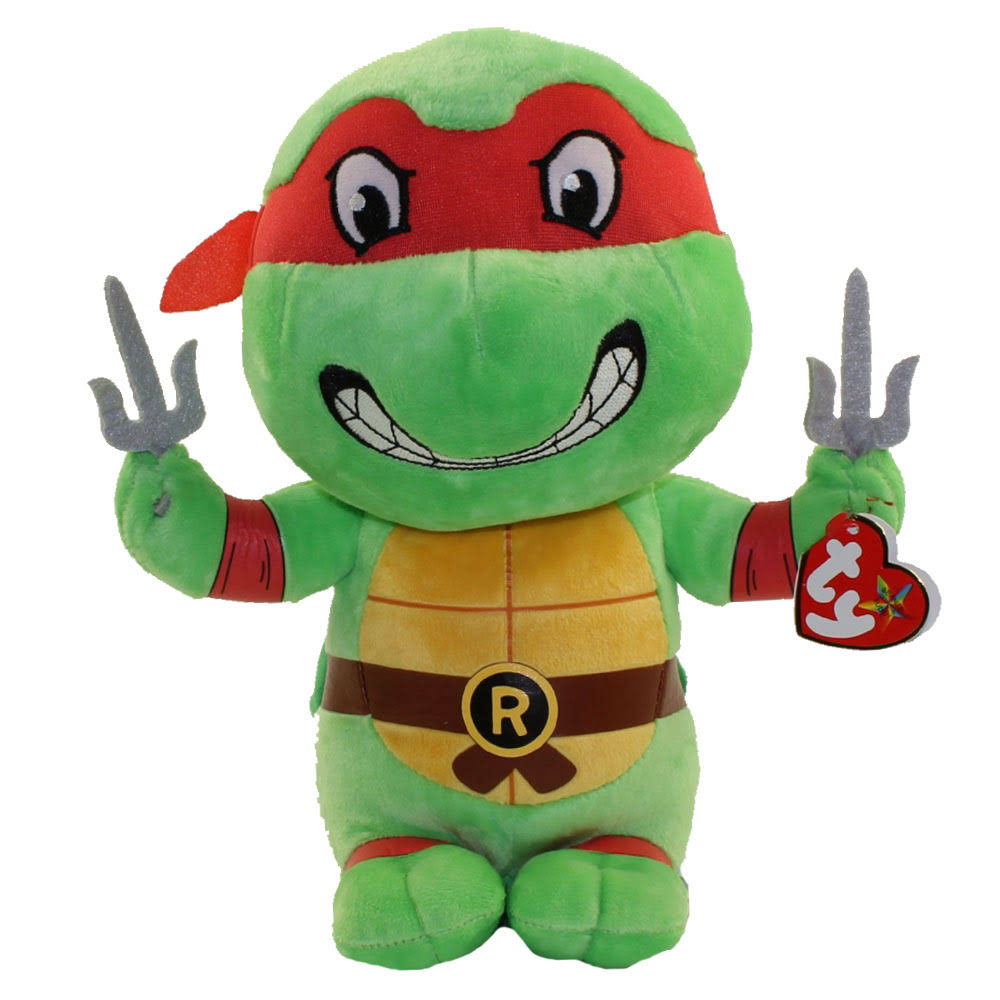 "Ty | Raphael-Teenage Mutant Ninja Turtles 13"" Plush"
