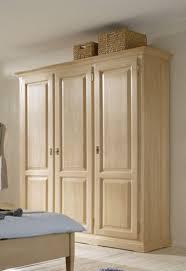 schrank kleiderschrank 3 türig schlafzimmer fichte massiv gewachst