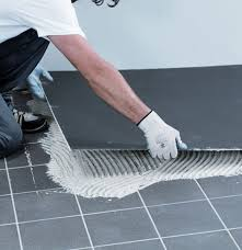 recommended adhesives for large format porcelain tiles technical