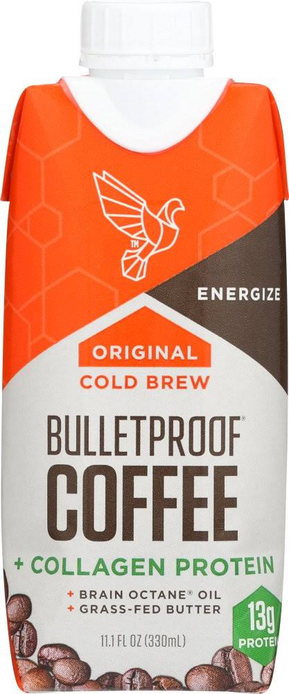 Bulletproof Coffee, Cold Brew, Original, Collagen Protein - 11.1 fl oz