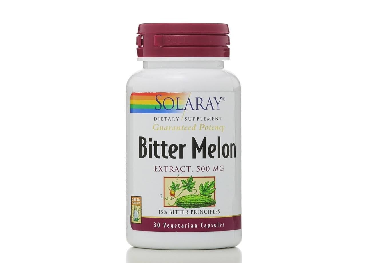 Solaray Bitter Melon Extract - 500mg, 30 Capsules