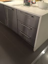 ikea grevsta stainless panels kitchen interior kitchen