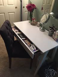 makeup desk target threshold basic desk and threshold brookline