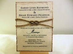 10 OFF Rustic Wedding Invitation Modern Shabby Chic Handmade Decor