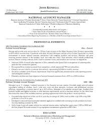 Key Account Manager Resume Samples Sales And Marketing Sample Source Business Over