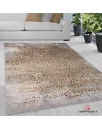 merinos teppich thema serie 23021 956 braun beige