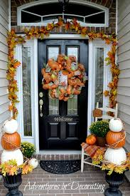 Adventures In Decorating Christmas by Adventures In Decorating Our Fall Front Porch