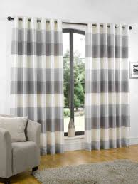 Ikea Vivan Curtains Uk by White And Grey Curtains In The Living