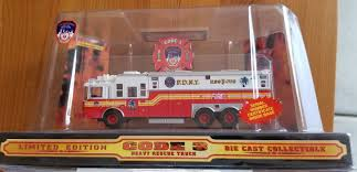 100 Code 3 Fire Trucks Heavy Rescue Truck 12701 164 Scale NEW On Sale 7500 USD