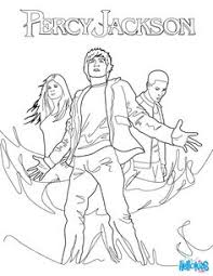 Percy Jackson Coloring Pages To Print