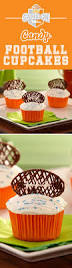 Cakes Decorated With Candy by Best 25 Football Cupcakes Ideas Only On Pinterest Football