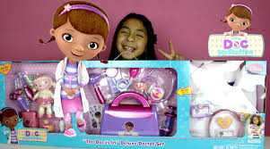 Dora The Explorer Kitchen Set India by Doc Mcstuffins Doctor Kit Doc Is In Delux Doctor Set With More