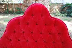 Velvet Headboard King Size by Vintage Red Tufted King Size Headboard The Best Bedroom Inspiration