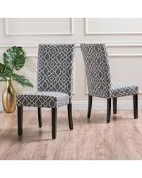 Dining Chair Slipcovers Target Amazing Deal On Jami Patterned Fabric By Christopher Of