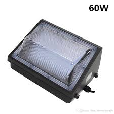 60w led wall pack light fixture replace 150w wall mount outdoor