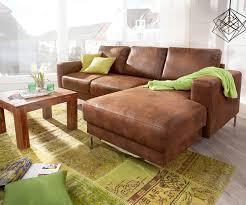 eckcouch silas braun antik optik 235x147 cm ottomane rechts designer ecksofa moderne einrichtungsideen günstig bei möbel modern