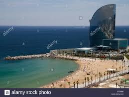 100 W Hotel Barcelona Stock Photos Stock
