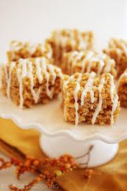 Rice Krispie Treats Halloween Shapes by Pumpkin Spice Rice Krispie Treats