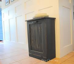 Under Cabinet Trash Can Holder by Tips Fresh Idea To Design Your Kitchen With Trash Can Cabinet