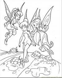34 Disney Fairy Coloring Pages 4002 Via Mostdecoration1blogspot