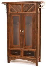 Rustic Barnwood Gun Cabinet