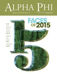 Alpha Illinois Pumpkin Patch by Spring 2015 Alpha Phi Quarterly By Alpha Phi International